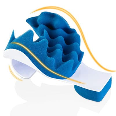 Aquapro Chiropractic Pillow - Neck and Shoulder Relaxer Cervical Pillow