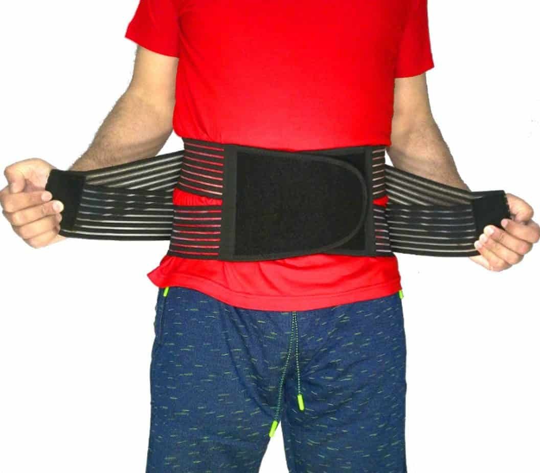 Best Back Brace Lumbar Support Belt for Lower Back Pain