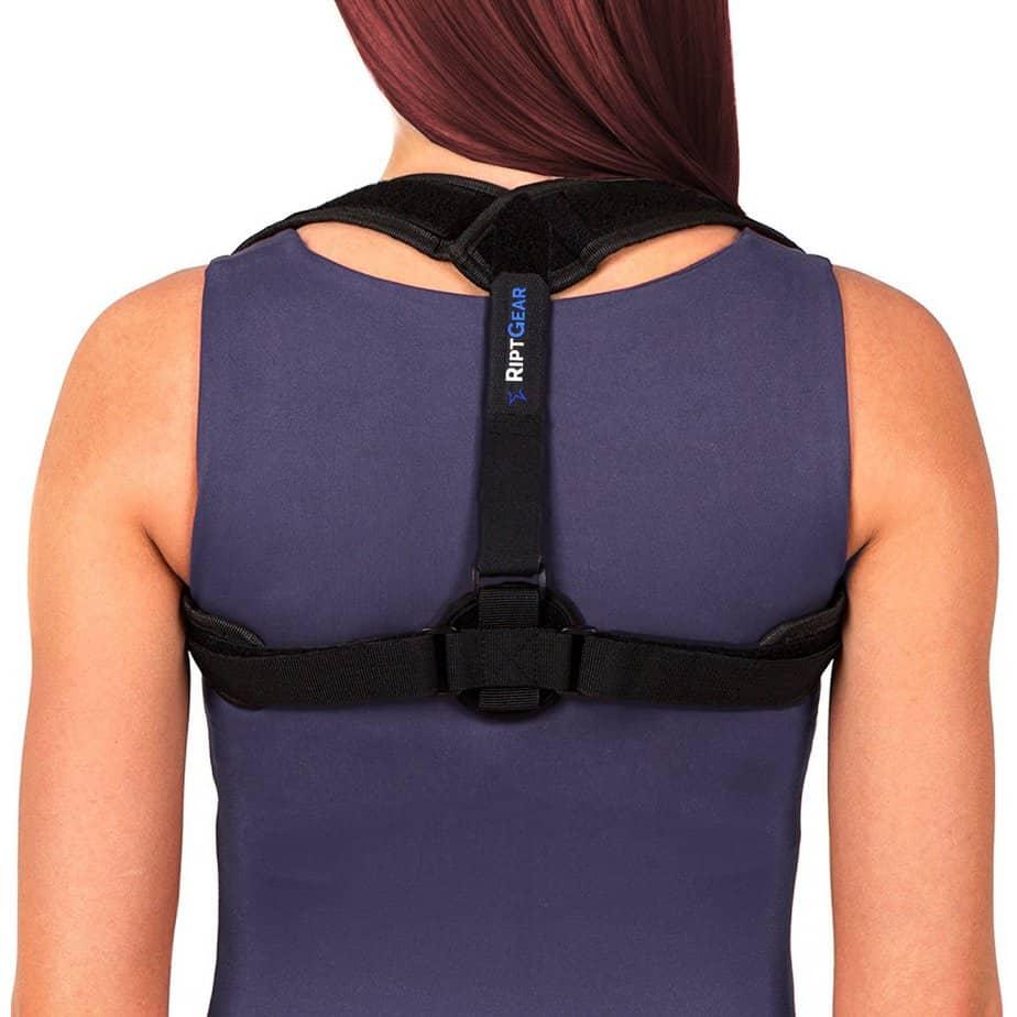 Adjustable Shoulder and Back Posture Corrector Brace