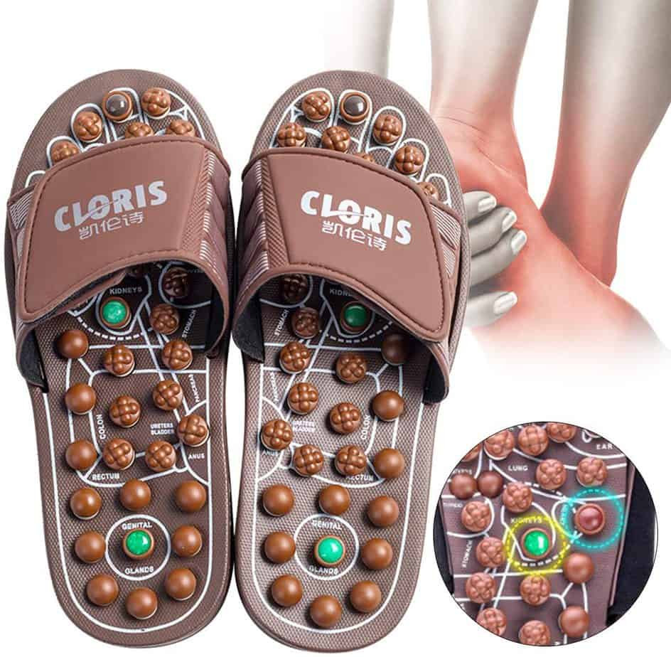 CLORIS Foot Massagers Acupressure Massage Slippers