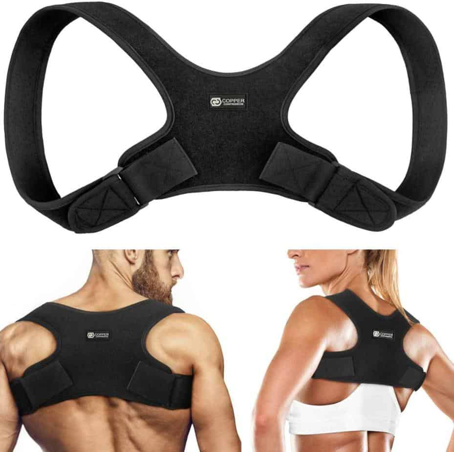 Copper Compression Posture Corrector