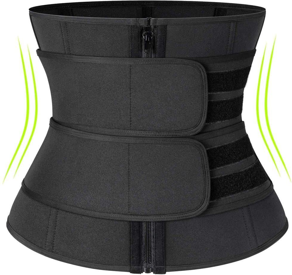 Kiwi Rata neoprene sauna waist trainer belt