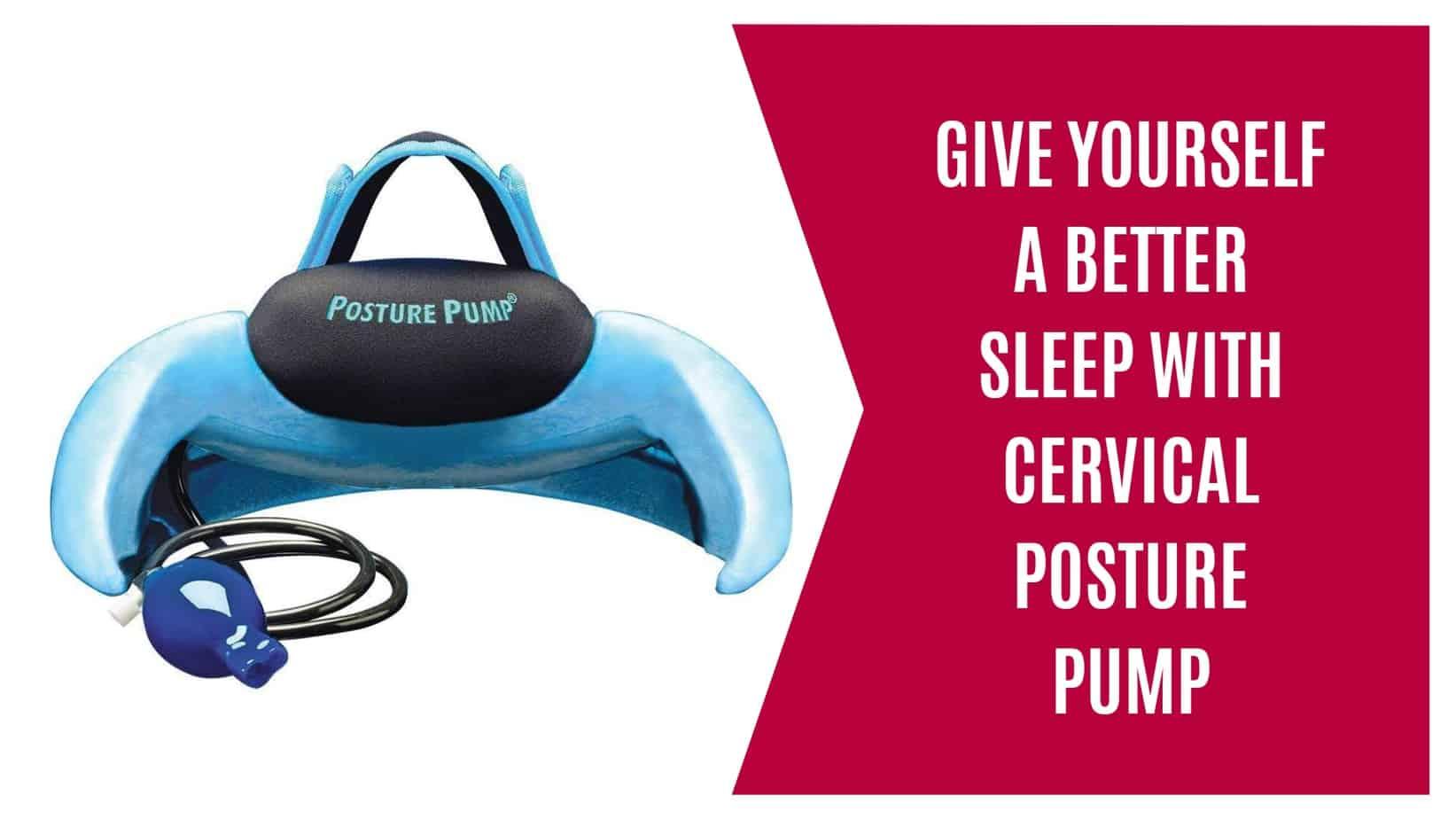 sleep cervical posture pump