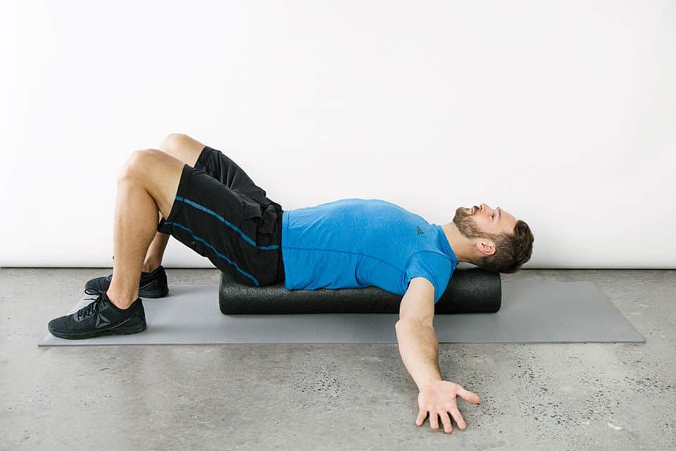 How does a foam roller help with back pain