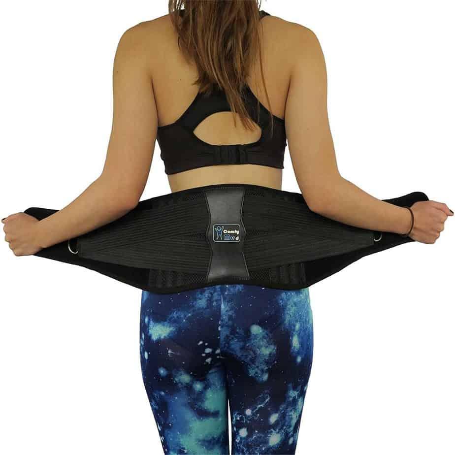 ComfyMed premium back brace posture corrector