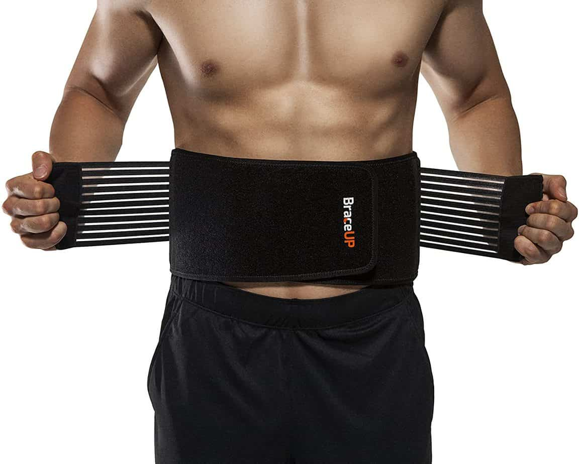 BraceUP Stabilizing Lower Back Brace - best lower back brace