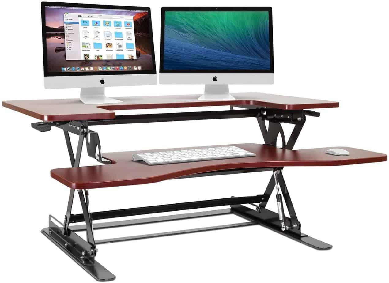 Halter Cherry Height Adjustable standing desk - best standing desks