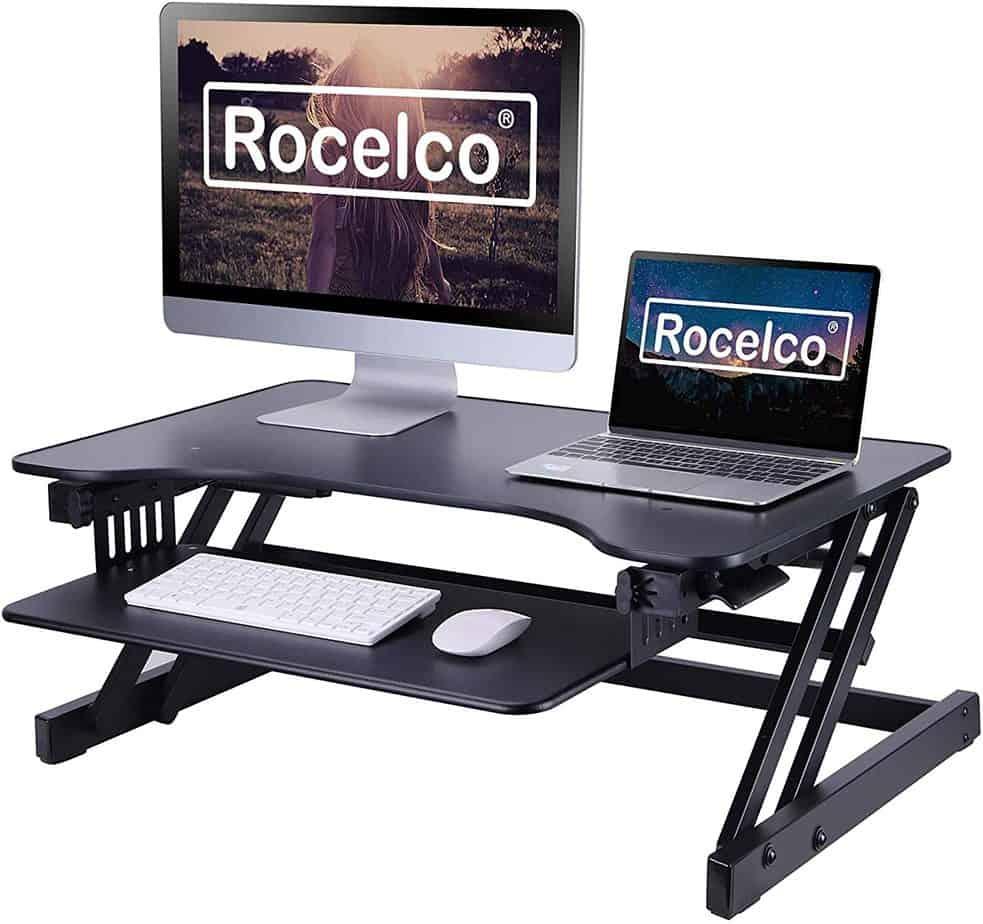 """Rocelco 32"""" Height Adjustable Standing Desk"""