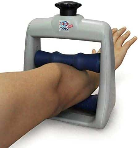 Roleo arm massager for tennis elbow