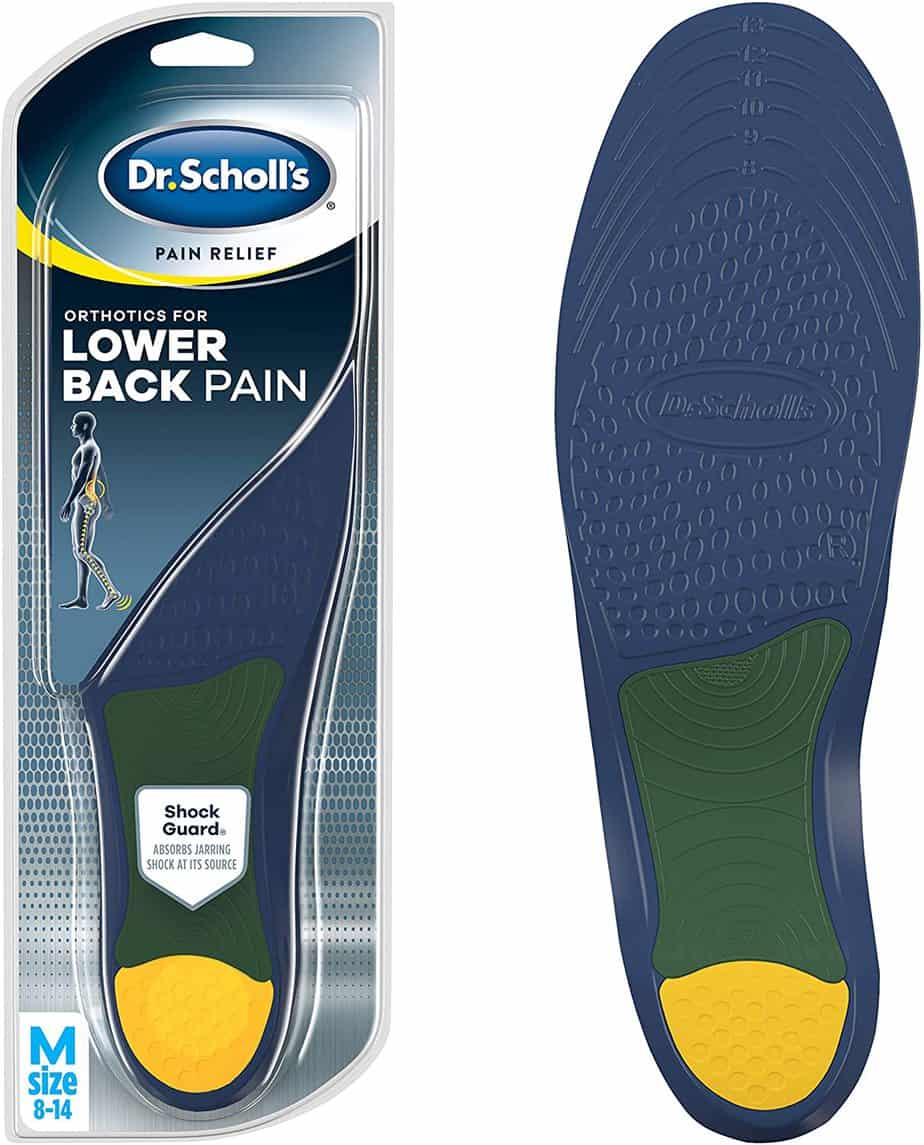 Dr. Scholl's Lower Back Pain Relief Orthotics