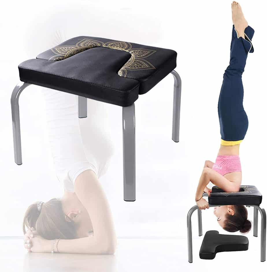 Scool Yoga Headstand Bench Yoga Inversion Chair