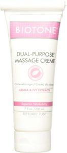 Biotone dual-purpose massage crème