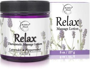 Relax therapeutic massage lotion