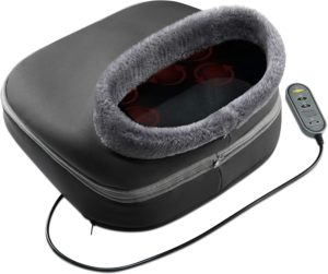 Shiatsu foot and back massager