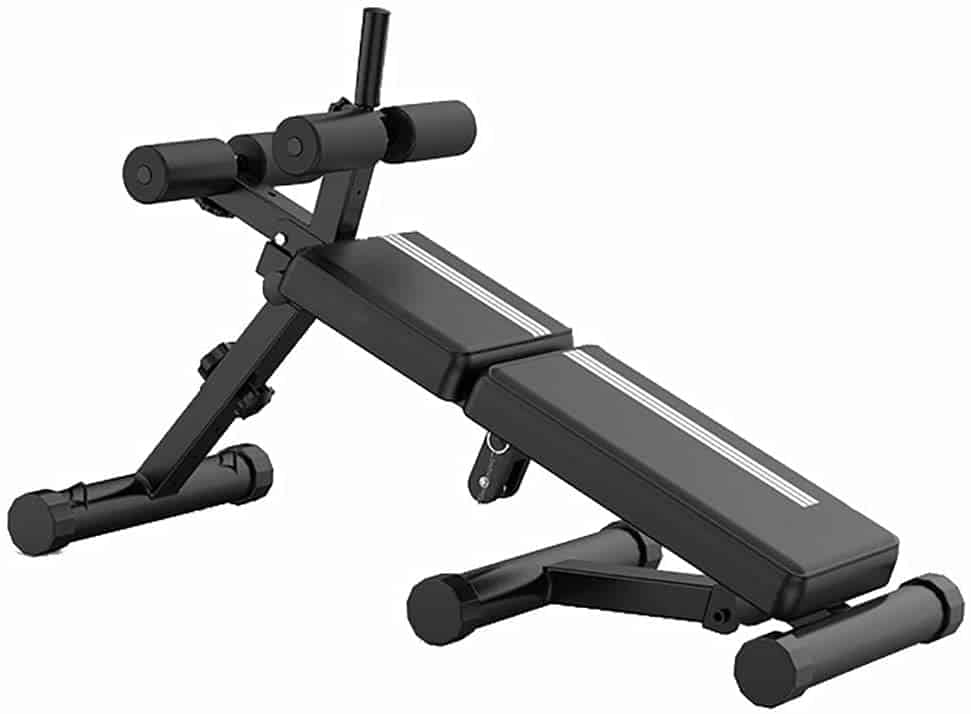 WZR Adjustable and Foldable Sit Up Bench