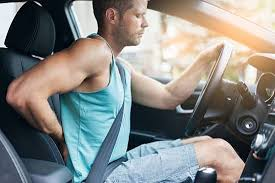 back pain from driving