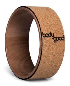 BodyGood cork yoga wheel