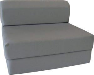 D&D Furniture Gray Sleeper Chair
