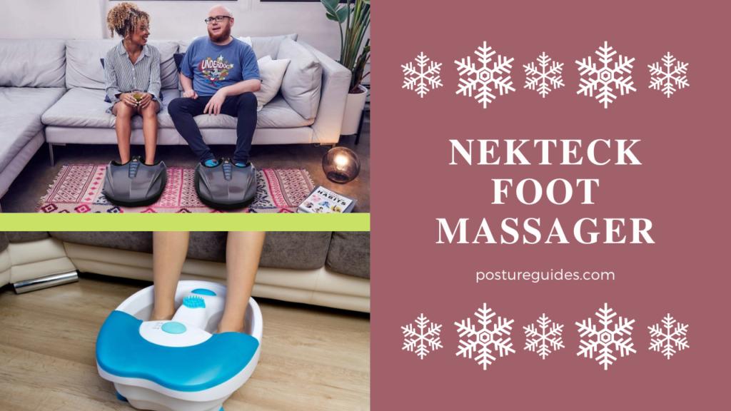 3 Nekteck Foot Massager