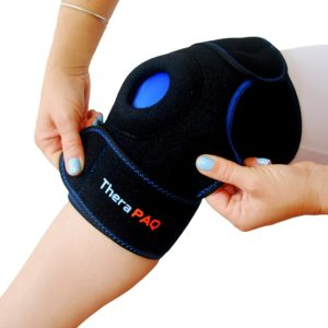 Knee Ice Pack Wrap by TheraPAQ