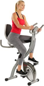 Sunny Health & Fitness Comfort Folding Exercise Bike