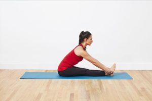 yoga wheel postures