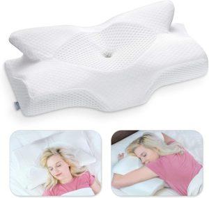 Elviros Cervical Memory Foam Pillow
