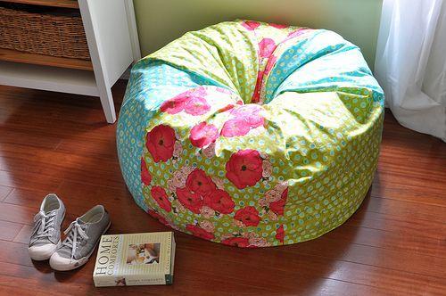 how to make bean bag chair